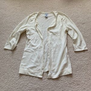 Gap cream cardigan sweater size XS